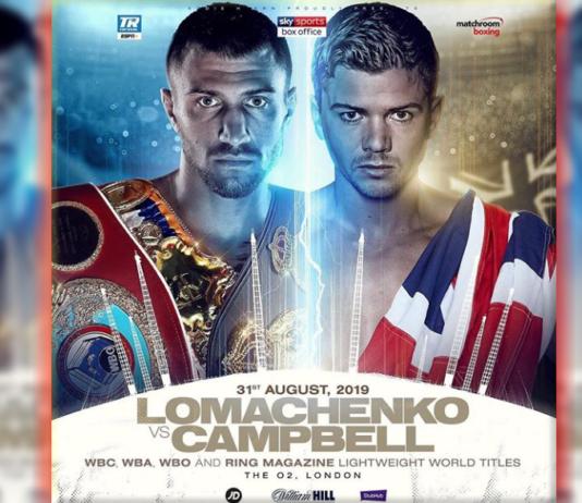 Oficjalnie: Vasyl Lomachenko vs. Luke Campbell o pasy WBC, WBA, WBO!