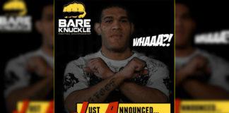 Antonio Silva Bare Knuckle Fighting Championship