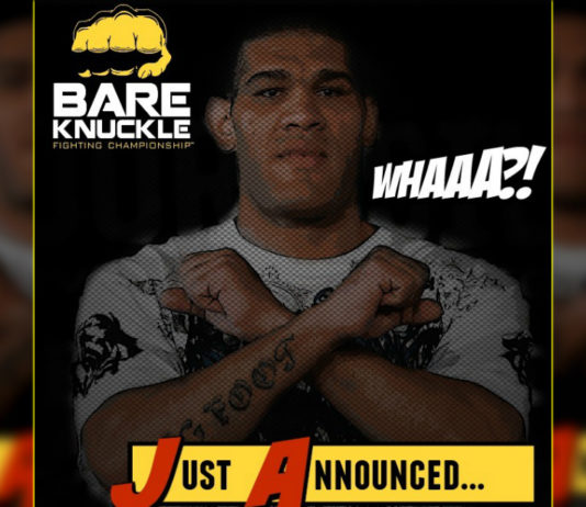 Antonio Silva Bare Knuckle Fighting Championship