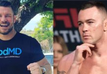 Michael Bisping i Colby Covington