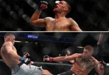 Nate Diaz wygrywa