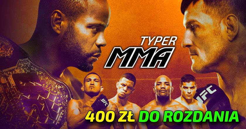 UFC 241 typer