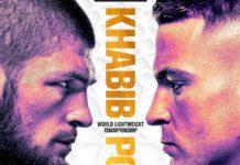 UFC 242: Khabib vs. Poirier - godziny rozpoczęcia
