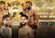 one championship dreams of gold rozpiska