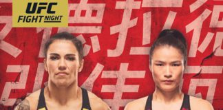 UFC on ESPN+ 15 Andrade vs Zhang rozpiska