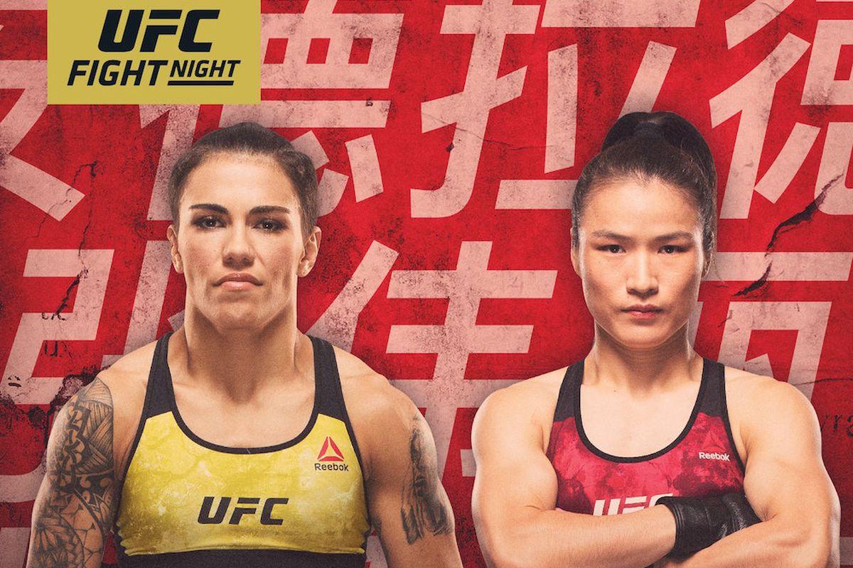 UFC on ESPN+ 15 Andrade vs Zhang rozpiska