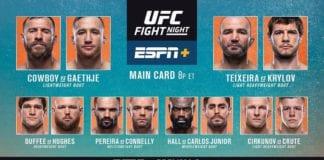 UFC on ESPN+ 16 cerrone vs Gaethje wyniki gali