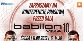 babilon mma 10 konferencja prasowa