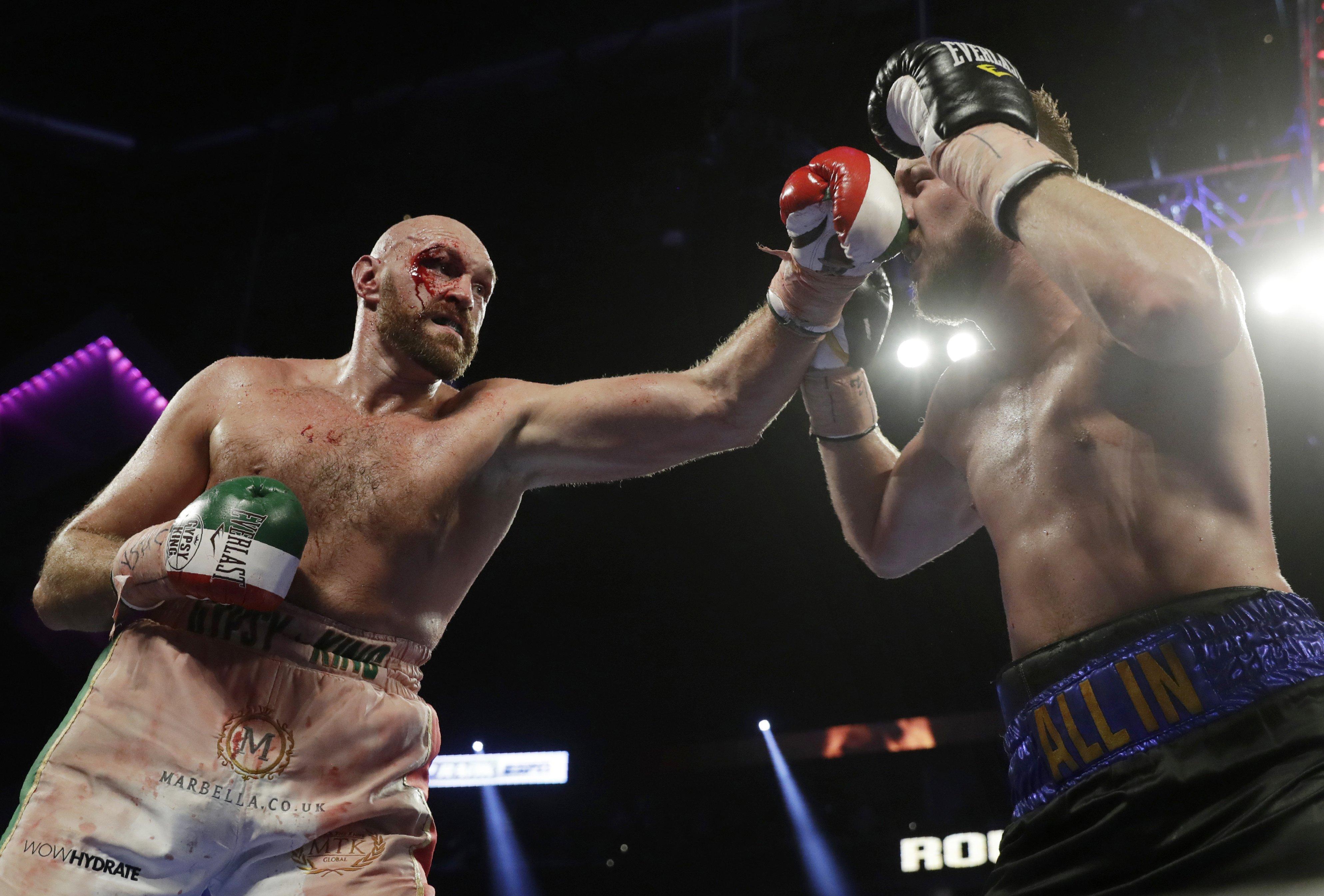 Tyson Fury vs Otto Wallin