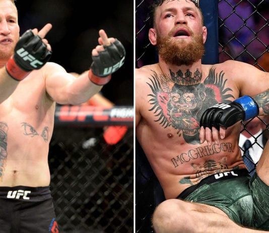 Justin Gaethje vs Conor McGregor