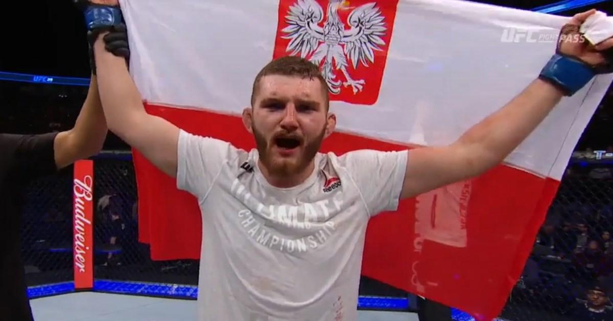 Michał Oleksiejczuk ufc