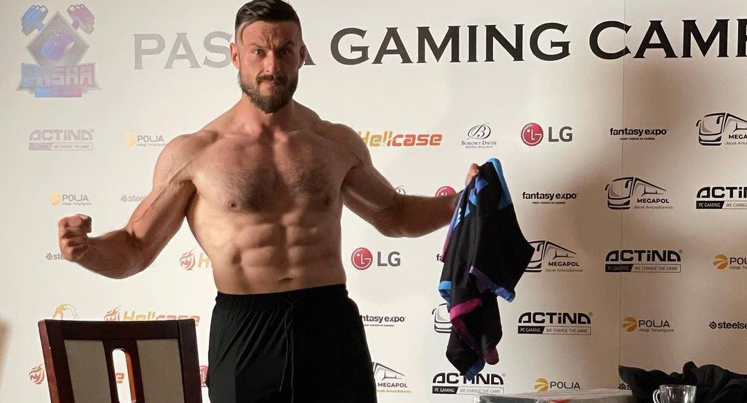 pasha biceps Jarosław Jarząbkowski
